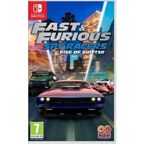 Fast and Furious Spy Racers Rise of SH1FT3R Nintendo Switch Game